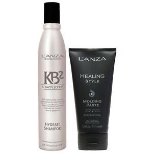 L'Anza Healing Style Molding Paste 175ml + Hydrate Shampoo 300ml