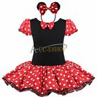 Baby Toddler Girl Minnie Mouse Party Ballet Tutu Dress up Costume Cosplay Outfit