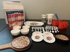Pizza Hut JCPenney Vintage Toy Food Play Set Chilton Globe Seymour Wisconsin