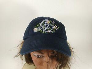 J D John Deere Women's  Floral Ball Cap Hat