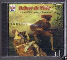 ROBERT DE VISEE CD NEW  PIECES 9 .10. 11.12 POUR LA GUITARRE SANDRO VOLTA