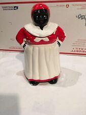 Vintage Ceramic Mammy-Aunt Jemima Cookie Jar Black Americana