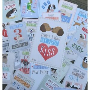 Puppy Milestone Cards - Capture All Your Puppies Firsts!