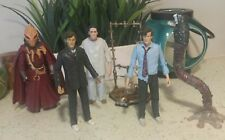 "Doctor Who 6 Figure Lot 6"" 10th Tennant Chip Cassandra 11th Smith Prisoner Zero"