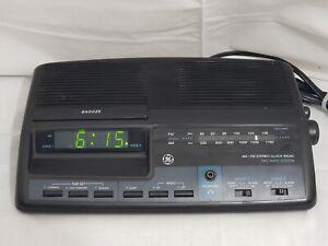 Vintage General Electric Model 7-4664A AM/FM Digital GE Dual Alarm Clock Radio