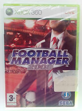 FOOTBALL MANAGER 2008 XBOX 360 EUROPEAN SEALED BRAND NEW