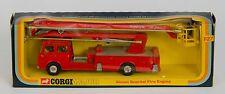 Corgi 1127 Simon Snorkel Fire Engine. gran modelo en caja de la ventana. Original Década de 1970
