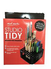 Mont Marte Studio Tidy Paint Brush Pencils Holder Organizer Table Organize Art