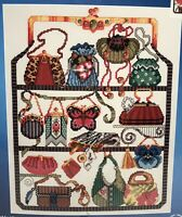 Janlynn Cross Stitch Purse Collection Kit Beads Embellished Shopping 023-0140