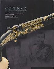 Fine Arms, Armour, Orders and Militaria. Czerny's. Asta. 2007 (Armi - Armature)