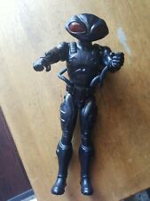 "Dc Multiverse 12"" Black Manta Figure Aquaman Mattel Loose 12 inch"