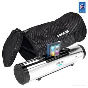Azatom iFlute TRAVEL BAG for ipod & iPhone Tube Docking station speakers