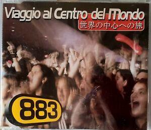 883 / MAX PEZZALI - VIAGGIO AL CENTRO DEL MONDO CD SINGLE, 1999, ITALY. RARO***