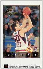 1994 Australia Basketball Card NBL Series 2 National Heroes NH13:Scott Fisher