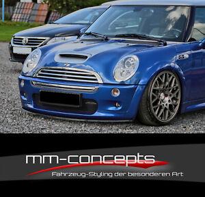 CUP Spoilerlippe Mini Cooper Typ R50 R52 R53 S Frontspoiler Spoilerschwert IN
