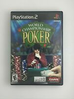 World Championship Poker - Playstation 2 PS2 Game - Complete & Tested