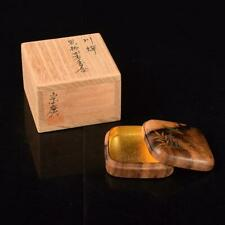 Tea Ceremony Kougou Kogo Sado Japanese Traditional Craft t492