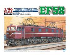 Aoshima 30714 - 1/50 Electric Locomotiva EF58 - Nuovo