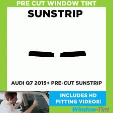 Pre Cut Sunstrip - Audi Q7 2015 Window Tint