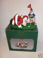 "KSA Collectibles Fabriche Santa ""Sizing Up The Putt"""