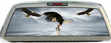 Eagle Eagles Mountains #02 Rear Window Graphic Tint Truck Stickers Decals