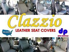 06-07 Dodge Ram 2500 Mega Cab Clazzio Leather Seat Covers-Gray-Full Set