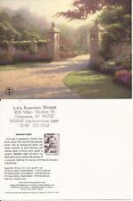 "Thomas Kinkade,""SUMMER GATE"" Two (2) Postcards , NEW"