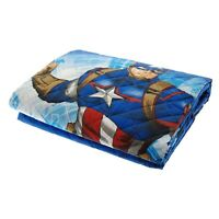 Trapuntino Capitan America Bassetti Copriletto trapuntato Avengers puro cotone