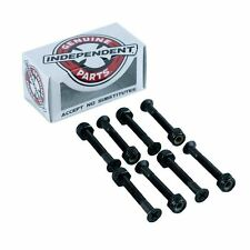 """Indy Independent Skateboard Truck Bolts Phillips Black 1.5"""" New Free Delivery"""