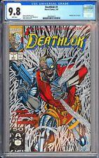 Deathlok #1 CGC 9.8 WP 1991 3941093012 Metallic Silver 1st Issue Collector's Ite