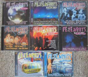 FETENHITS 14 CD BEST OF; APRES SKI; SCHLAGER; DIE DEUTSCHE; REAL CLASSICS DISCO