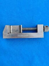 Vintage Starrett No160 Toolmakers Clampmachine Vise
