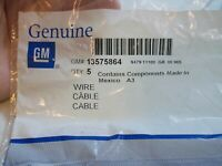 New NOS GM General Motors Chevrolet 13575864 Wire Cable Wiring Repair Qty.5