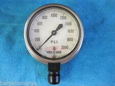 Helicoid Gauge  6685008434956 1779007 430L E3N2H7AOFOOOO  2000 PSI 3.5 .5 NPT