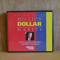Million Dollar Habits: Brian Tracy Audiobook 6CDS
