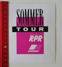Aufkleber/Sticker: Radio RPR - Zender - Sommer Tour (20021764)
