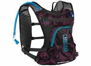 Camelbak Chase Bike Vest Hydration Pack BPA Free 50oz/1.45L - Plum Purple/Black