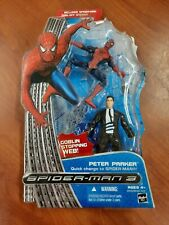 New listing Spiderman 3 Peter Parker Goblin Stopping Web Action Figure