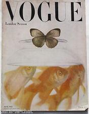 1947 IRVING PENN London Season VOGUE 40s vintage fashion Pattern Book