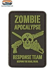 Zombie Response Team Special Forces Badge Airsoft Morale FREE DELIVERY