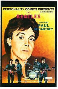 Personality Comics Presents The Beatles #2 (1991) FN-FN/VF 1st Print  McCartney