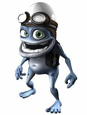 Big Crazy Frog Left  Annoying Thing decal adhesive transparent sticker scooter