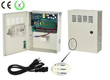 18Channel DC12V 10A UPS Box Power Supply Support Battery CE ROHS For CCTV Camera