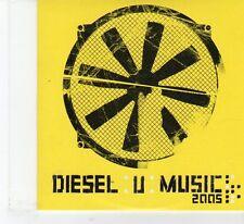 (FR80) Music Week Presents, Diesel U Music, 9 tracks various artists - 2005 CD