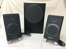 Creative Labs Inspire T3000 Powered Subwoofer With 2 Speakers WORKS! T 3000
