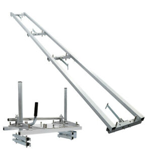 """14""""-24"""" Chainsaw Mill & 9-FT Milling Rail System Aluminum Rail Mill Guide System"""