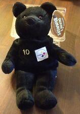 1999 Salvino's Bammers Piitsbrugh Steeler # 10 Stewart Bean Bag Plush Bear-