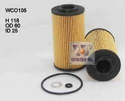 OIL FILTER FOR HYUNDAI i30 KIA SOUL CERATO TURBO DIESEL (R2655P) (PACK OF 2)