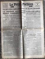 N47 La Une Du Journal Le Petit Parisien 8 Juin 1944
