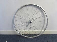 """24"""" Alloy Silver Rear Bicycle Wheel 36h"""